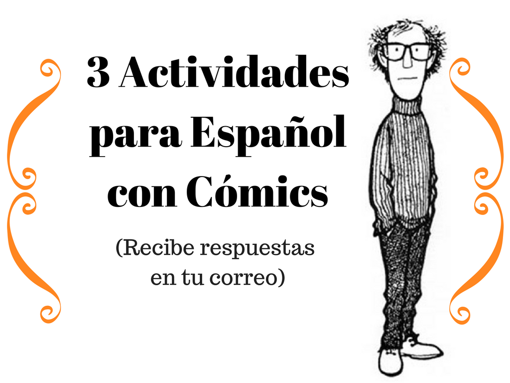 3 Actividadesde Españo Cómics